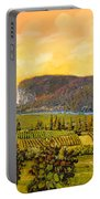 La Vigna Sul Fiume Portable Battery Charger by Guido Borelli