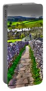 Labyrinth Of Grassington Portable Battery Charger