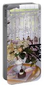 Lacey Curtain And Pastry Portable Battery Charger