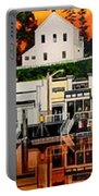 Laconner Waterfront Art Panel Portable Battery Charger