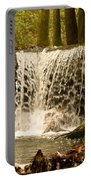 Lacy Waterfall Portable Battery Charger