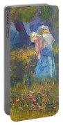 Ladies In The Woods Portable Battery Charger