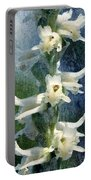 Ladies-tresses Orchid Portable Battery Charger