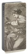 Lady And Eagle Portable Battery Charger