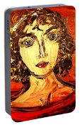 Lady Anna Portrait Portable Battery Charger