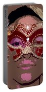 Lady Behind The Mask Portable Battery Charger