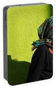 Lady In Green Portable Battery Charger