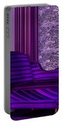 Lady In Lilac Room Portable Battery Charger
