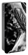 Lady In The Garden 1 Portable Battery Charger