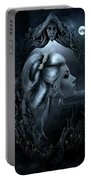 Lady In The Mirror Portable Battery Charger