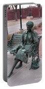Lady In The Park Portable Battery Charger