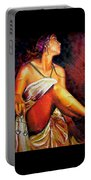 Lady Justice Mini Portable Battery Charger