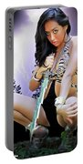 Lady Lightning  Portable Battery Charger