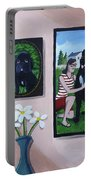 Lady Macbeth Family Gallery Portable Battery Charger