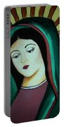 Lady Of Guadalupe Portable Battery Charger