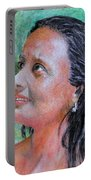 Lady Of India Portable Battery Charger