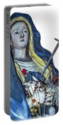 Lady Of Sorrows T-shirt Portable Battery Charger