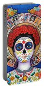 Lady Of The Loteria Portable Battery Charger