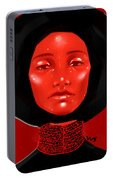 Lady Red Portable Battery Charger