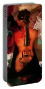 Lady Violin 01 Portable Battery Charger