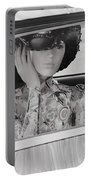 Lady Waiting Portable Battery Charger
