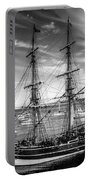 Lady Washington In Black And White Portable Battery Charger
