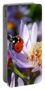 Ladybug Shows Her Heart Portable Battery Charger