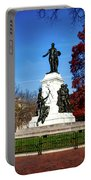 Lafayette Park In Autumn Portable Battery Charger