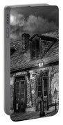 Lafittes Blacksmith Shop Bw Portable Battery Charger