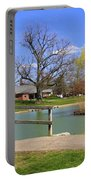 Lake At Schiller Park Portable Battery Charger
