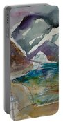 Lake Collage Portable Battery Charger