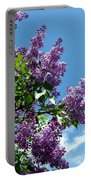 Lake Country Lilacs Portable Battery Charger