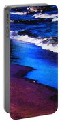 Lake Erie Shore Abstract Portable Battery Charger