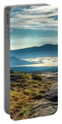 Lake George From Cat Mountain 1 Portable Battery Charger