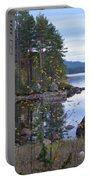 Lake Gustav Adolf Sweden Portable Battery Charger