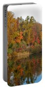 Lake Helene And Fall Foliage Portable Battery Charger