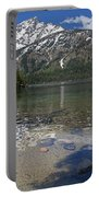 Lake Jenny Grand Tetons Portable Battery Charger