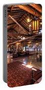 Lake Lodge Interior Yellowstone Portable Battery Charger