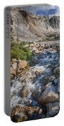 Lake Marie Of The Snowy Range Portable Battery Charger