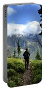 Lake Mcdonald From Mt Brown - Glacier National Park Portable Battery Charger