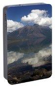Lake Mcdonald Reflection Glacier National Park Portable Battery Charger
