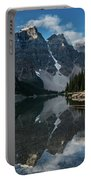 Lake Moraine Reflection Portable Battery Charger