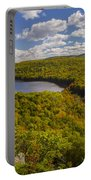 Lake Of The Clouds Portable Battery Charger