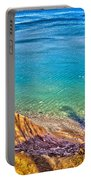 Lake Ontario At Chimney Bluff Portable Battery Charger