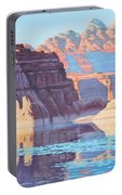 Lake Powell From Shore  Portable Battery Charger