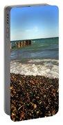 Lake Superior At Whitefish Point Portable Battery Charger