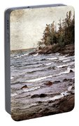 Lake Superior Waves Portable Battery Charger