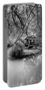 Lake Swing - Black And White Portable Battery Charger