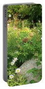 Lake Tahoe Flower Garden Portable Battery Charger