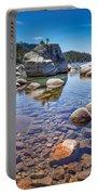 Lake Tahoe Rocks Portable Battery Charger